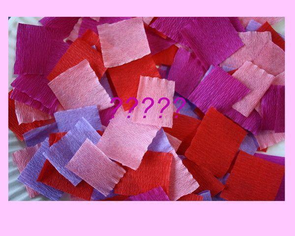qu'est ce qu'on pu faire avec du papier crépon???