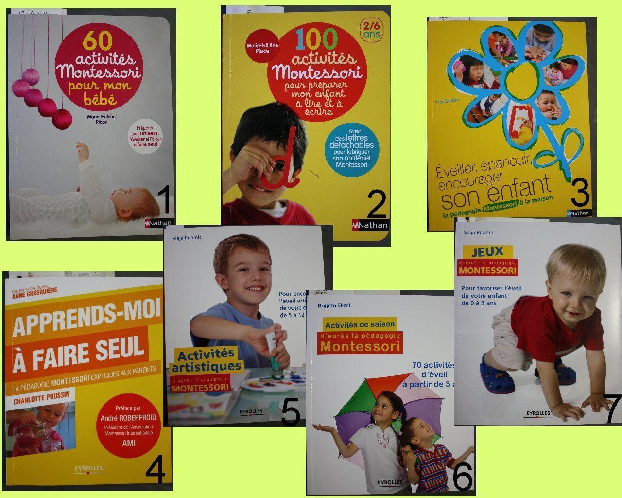Pedagogie Montessori Livres
